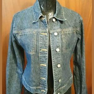 Jacob Jean Jacket Size Medium